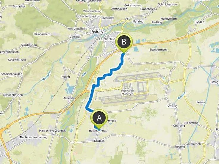 Fahrradtour nach Kaufland - Fahrradtour | Komoot - Fahrrad- & Wander-App