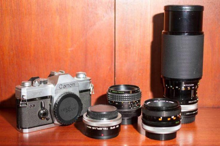 Canon FTb 35mm film camera and 3x lenses   Other Cameras   Gumtree Australia Vincent Area - Leederville   1119114108