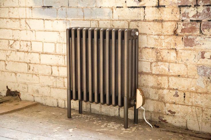 Electric Vault steel column radiator