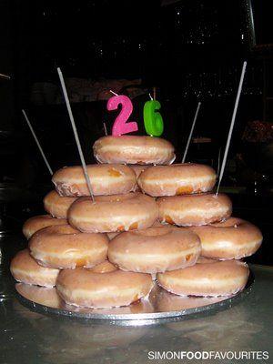 Donut Birthday Cake Ideas