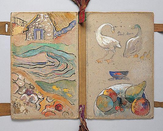 The Artist's Portfolio, Pont Aven Paul Gauguin (French, Paris 1848–1903 Atuona, Hiva Oa, Marquesas Islands )