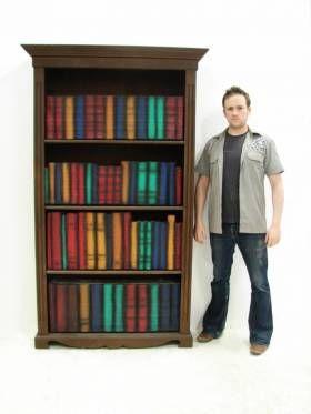 Fake Bookcase
