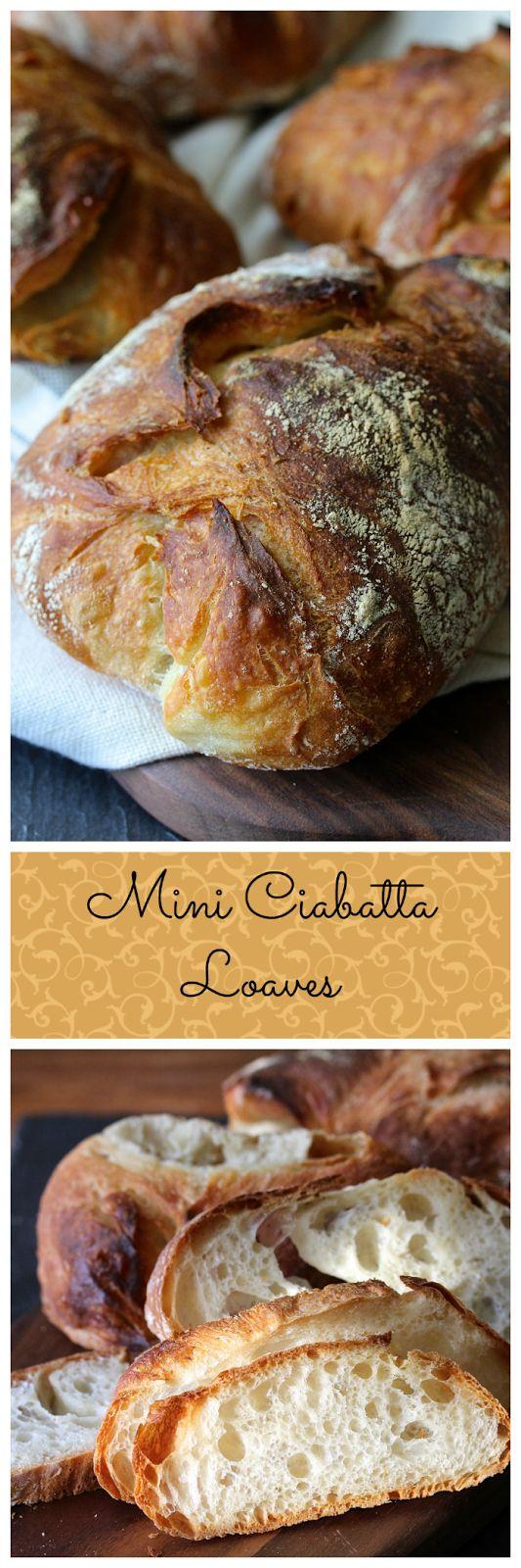 Mini Ciabatta Loaves