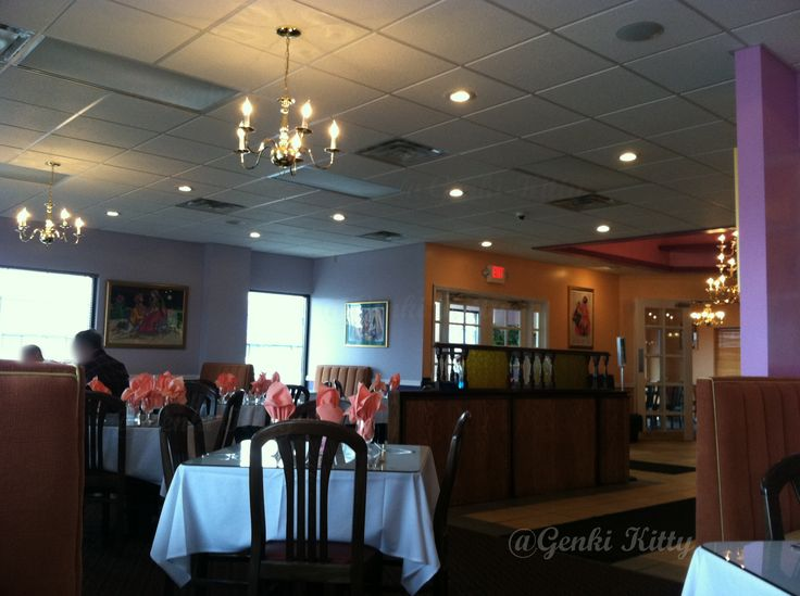 Inside the India Garden Restaurant Mishawaka, Indiana