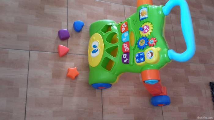 Chodítko hrací panel za 390 Kč   Detskybazar.cz