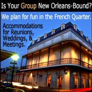 New Orleans, The French Quarter: Art, Music and Food. That's the essence!