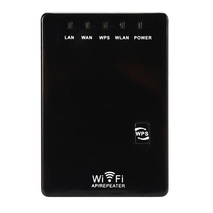 Original Inalámbrico 300 Mbps Wireless-n Router WiFi Repetidor 2dBi Antena Amplificador de Señal de Doble Puerto LAN 802.11n/b/g Gama expansor