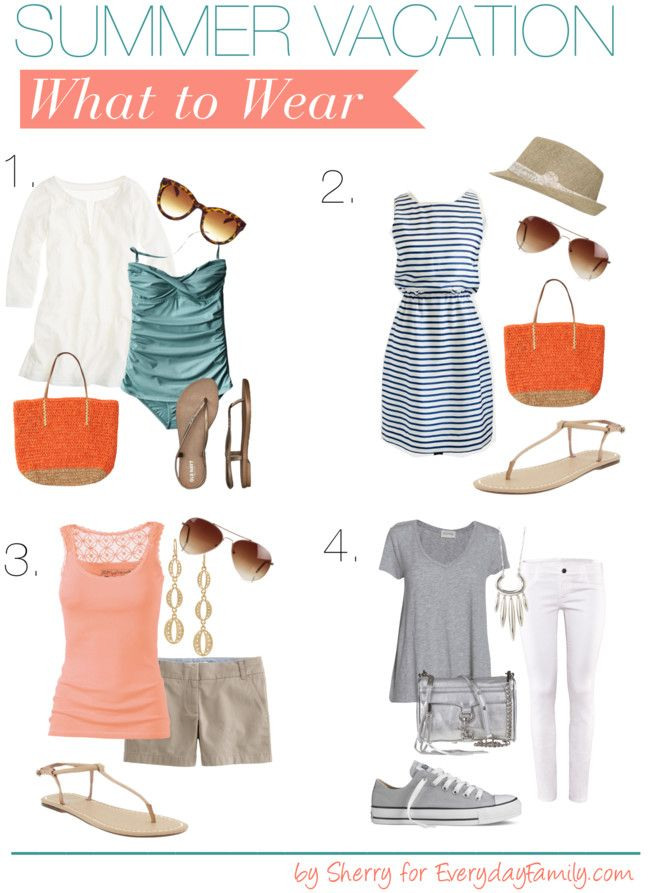 Summer Vacation (What to Wear)