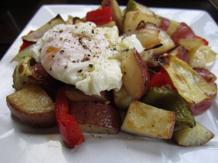 Vegetarian and Cooking!: Red Potato and Pepper Breakfast Potatoes