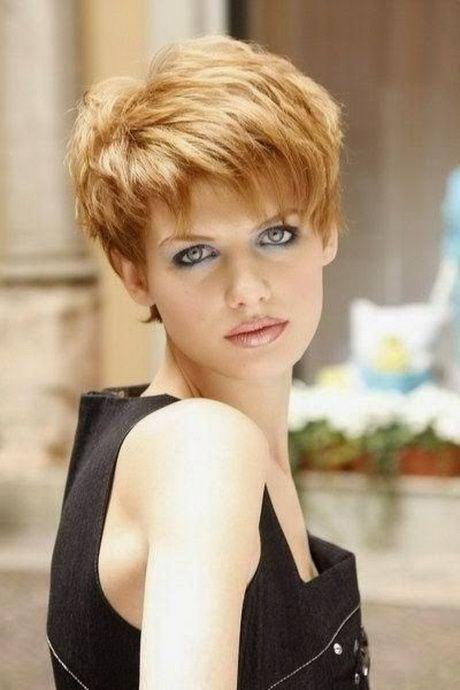 Trendige Kurzhaarfrisuren Fur Damen 2015 Fryzury Kurze Frisuren