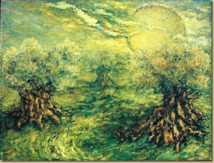 Olive Trees - Emilio Mogilner