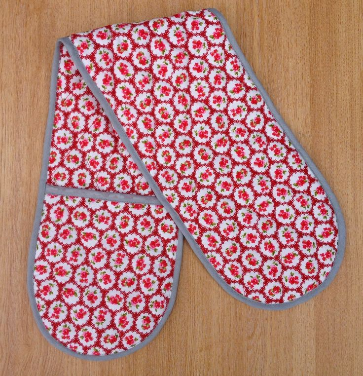 Oven glove photo tutorial, free oven glove pattern