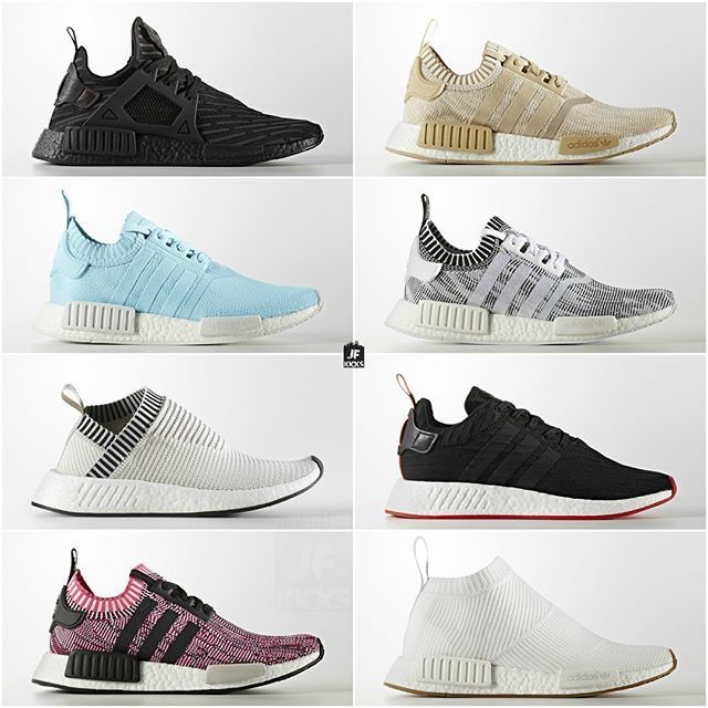 Upcoming adidas NMD releases. Which one(s) are you looking forward to? View a full list of upcoming NMD's with release dates on JustFreshKicks.com #JUSTFRESHKICKS