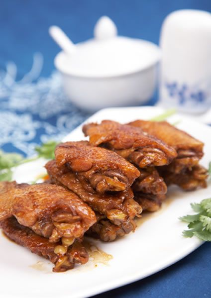 how to make honey soy marinade for chicken wings