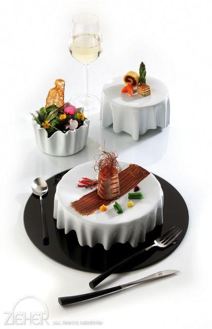Visualmente el color de un alimento o la mezcla de colores en un plato también aporta en un gran porcentaje a la aceptación o rechazo de éste.