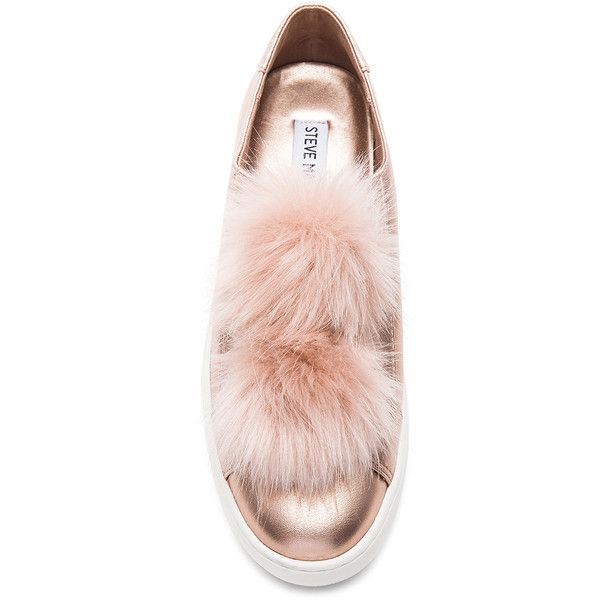 d24305d3705 Steve Madden Breeze Faux Fur Sneaker ( 90) ❤ liked on Polyvore featuring  shoes