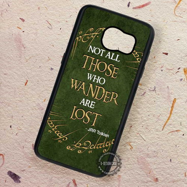 Jrr Tolkien Quote Lord of The Ring - Samsung Galaxy S7 S6 S5 Note 7 Cases & Covers