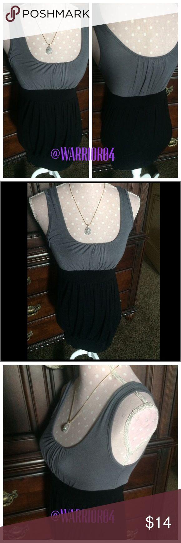 Body Central Gray & Black Dress Body Central Gray & Black Dress Body Central Dresses