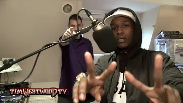 ASAP Rocky - Freestyle On Tim Westwood (2013)