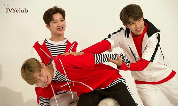 Daehwi, guanlin, Woojin