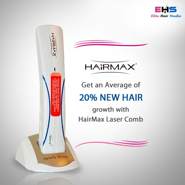 The HairMax Laser Comb is a revolutionary technology that shows you results within the first 12 weeks of use!