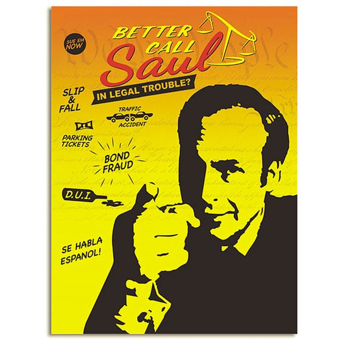 Better Call Saul SAUL-BL-4688-JFC 45x60 Microfiber Blanket - Free Shipping in the US!