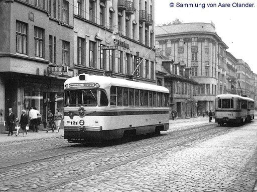 Kr. Barona iela, 60. gadi