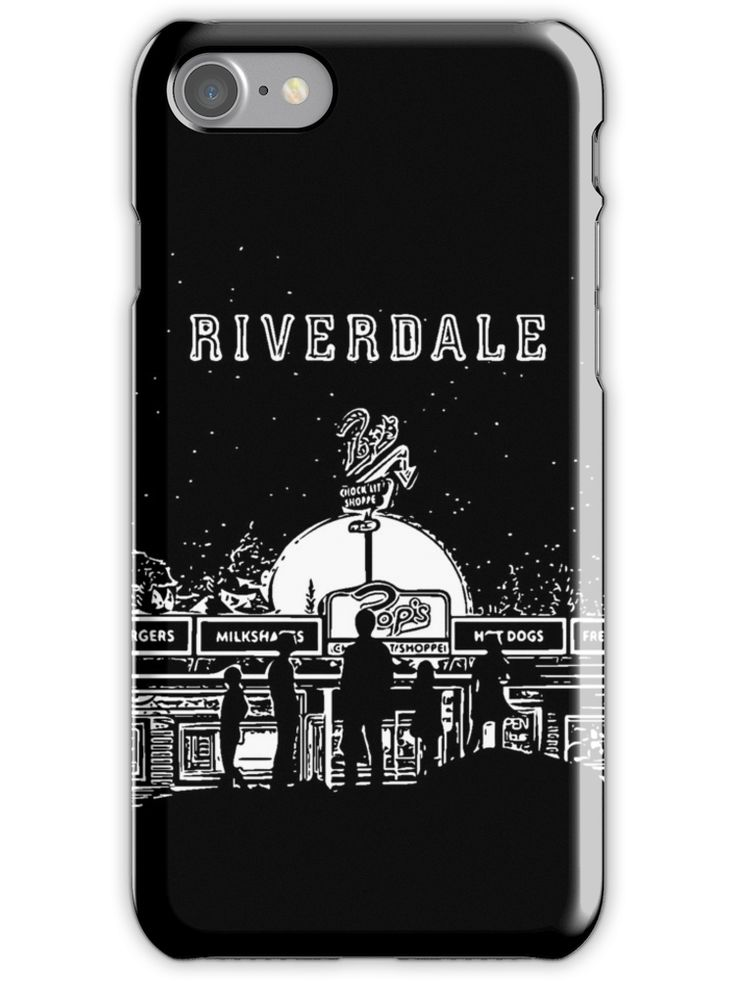 Riverdale Black And White Pop's Chock'lit Shoppe iPhone 7 Snap Case