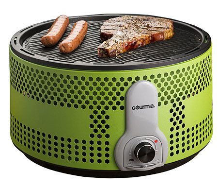 7. Gourmia GBQ330 Portable Charcoal Electric BBQ Gril