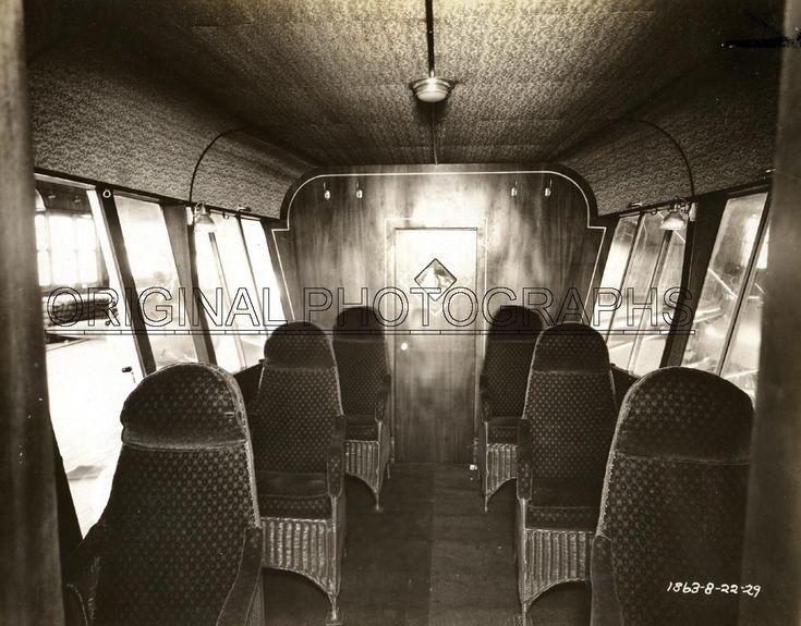 Defender Goodyear Interior Pre World War II Airship And