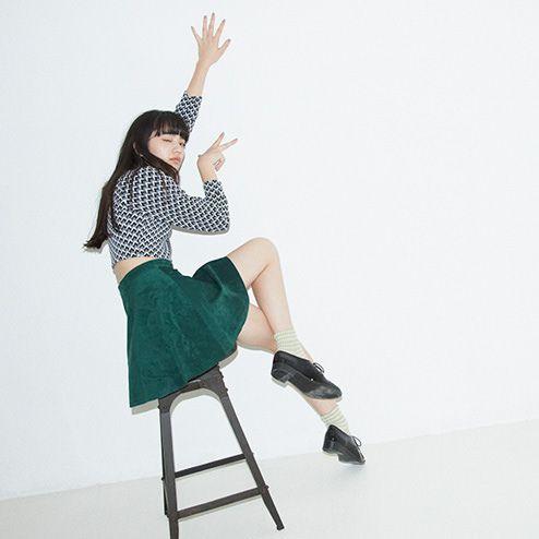 テンセンボーダーショートソックス - 小松菜奈