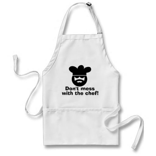 Cool apron for men | Dont mess with the chef