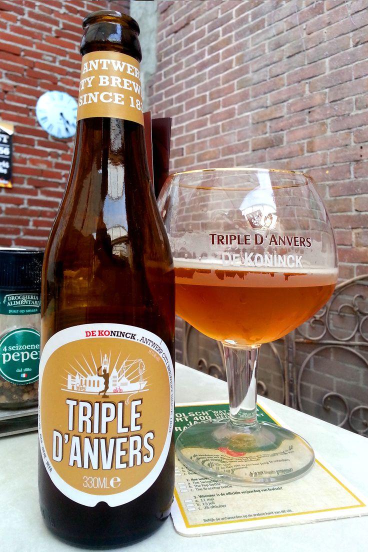 Beer, De Koninck~Tripel D'anvers 8,0%vol 33cl