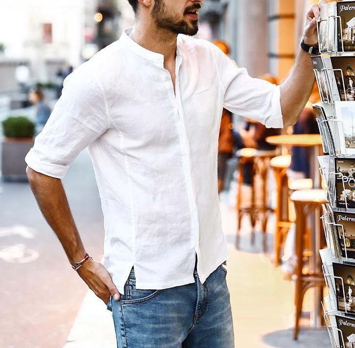 b5bdebc92fd Linen Shirt