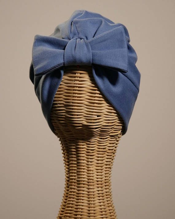 Bandalina Turban Blue Gray