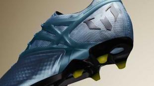Los nuevos botines de Messi para la final de la Champions League .