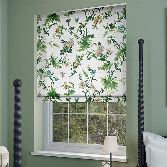 Primrose Hill Olive Roman Blind from Blinds 2go