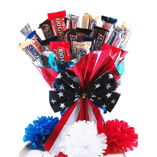 ... on Pinterest | Valentines, How to make candy and Candy bar bouquet