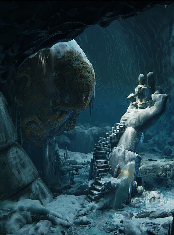 Fantasy Art Engine | Frozen Throne Room by Ronan Mahon(youtube detail)