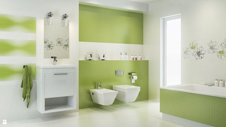 Fehér és élénk zöld