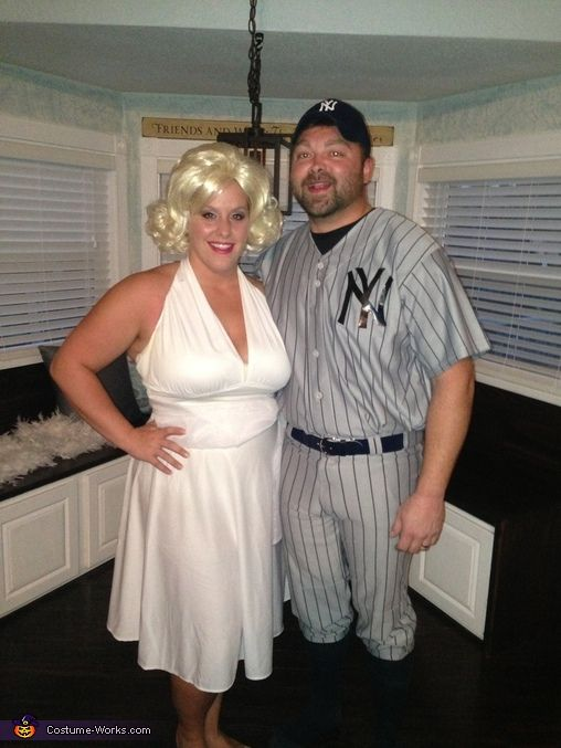 Berdella: My daughter, Promise as Marilyn and her husband, Matt as joe DiMaggio are wearing the costumes. The idea was prompted by my daughters infatuation of all things Marilyn Monroe. Her...