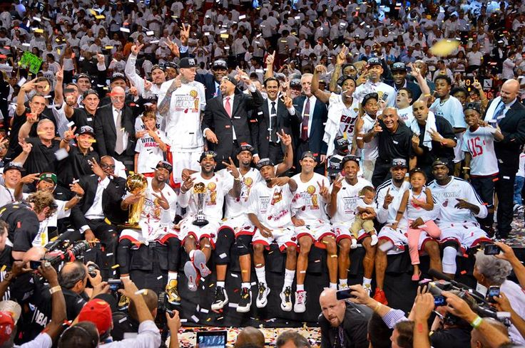 The Champs once again