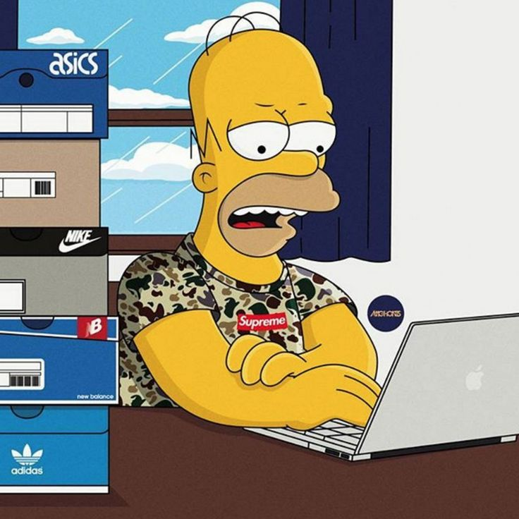 Supreme The Simpsons: 116 Best Images About Bape On Pinterest