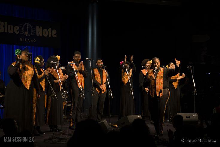 Harlem Gospel Choir live al Blue Note di Milano 28 dicembre 2017 ©Matteo Maria Betto