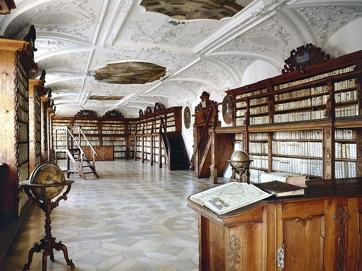 Provincial library of Amberg, Germany