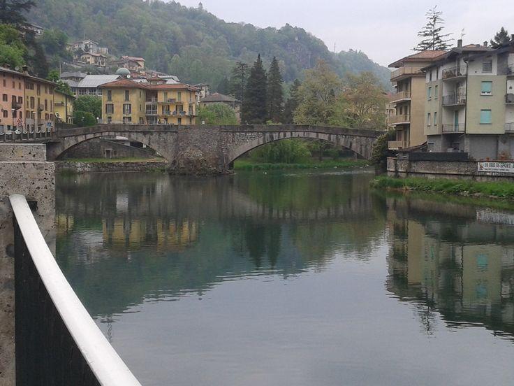 Stone Bridge View in San Pellegrino Terme