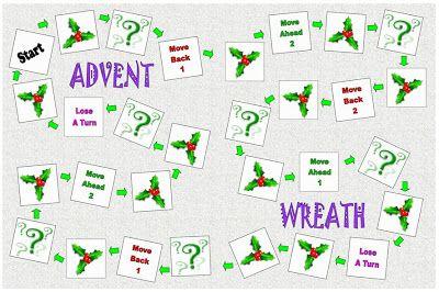 The Catholic Toolbox: Advent Wreath- (file folder game)