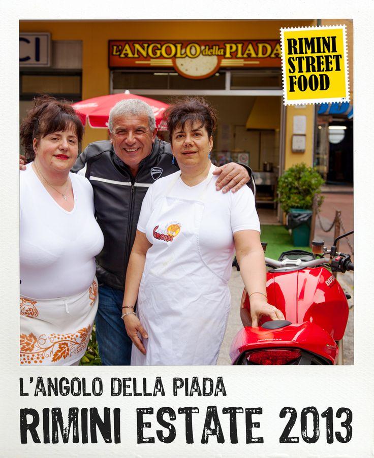 L'angolo della piada #rimini #food #streetfood #ducati