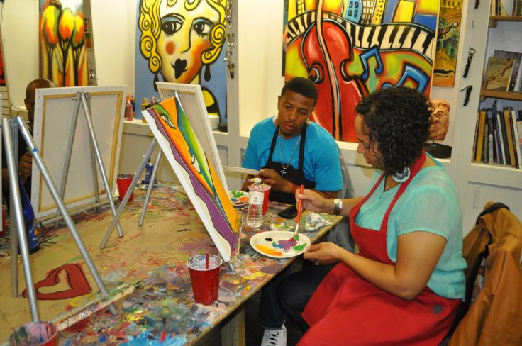 CAC is an art studio designed for children and adults