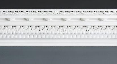 Georgian decorative cornice and molding